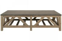Orient Express Bella Antique Blue Stone Coffee Table In Smoke Gray Pine with regard to size 1200 X 1200