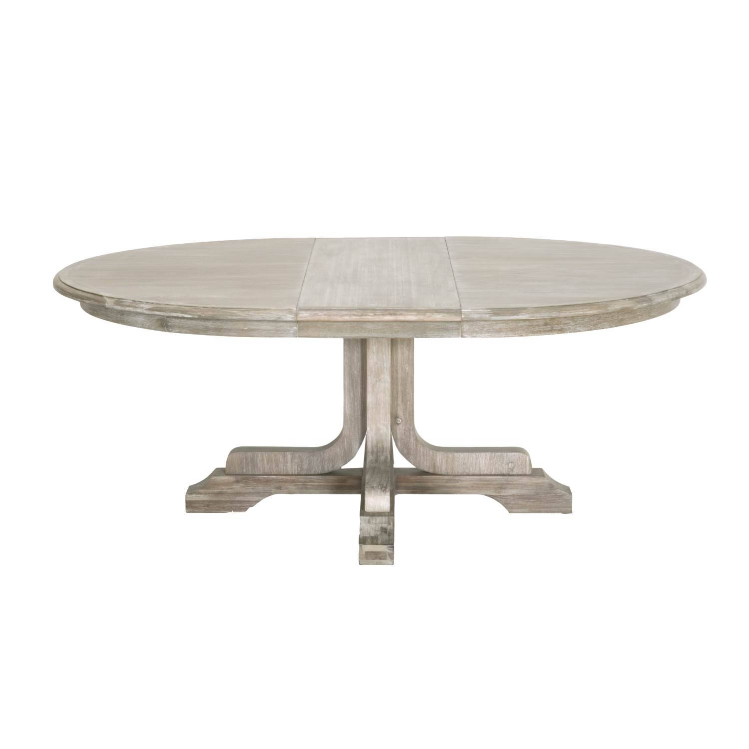 Orient Express Torrey Natural Gray 60 Inch Round Extension Dining regarding proportions 1500 X 1500