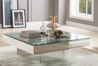 Orren Ellis Ulibarri Modern Square Glass And Mirror Coffee Table inside measurements 1317 X 1317