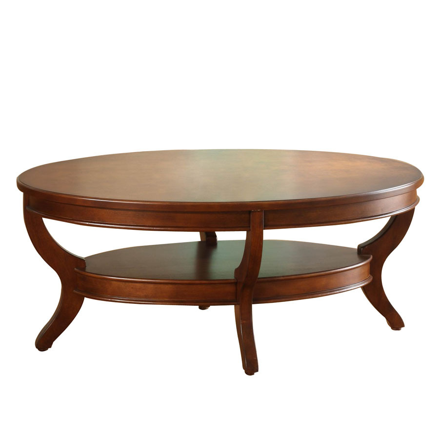 Oval Cherry Coffee Table Hipenmoedernl within measurements 900 X 900