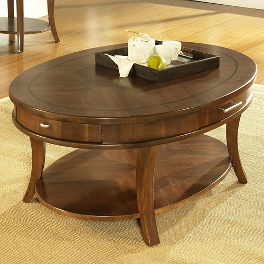 Oval Coffee Table With Drawer Hipenmoedernl intended for size 900 X 900