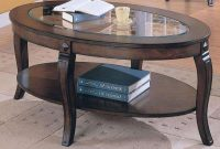 Oval Glass Coffee Table Wooden Legs Mandy Martin Style Luxury intended for size 1024 X 768