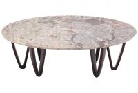 Oval Marble Top Coffee Table On Wooden Hair Pin Legs At 1stdibs throughout dimensions 1280 X 1280