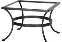 Ow Lee Standard Wrought Iron Bar Height Table Base throughout sizing 1000 X 1000