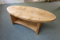 Pippy Oak Oval Coffee Table Real Wood Studios inside measurements 1333 X 1000