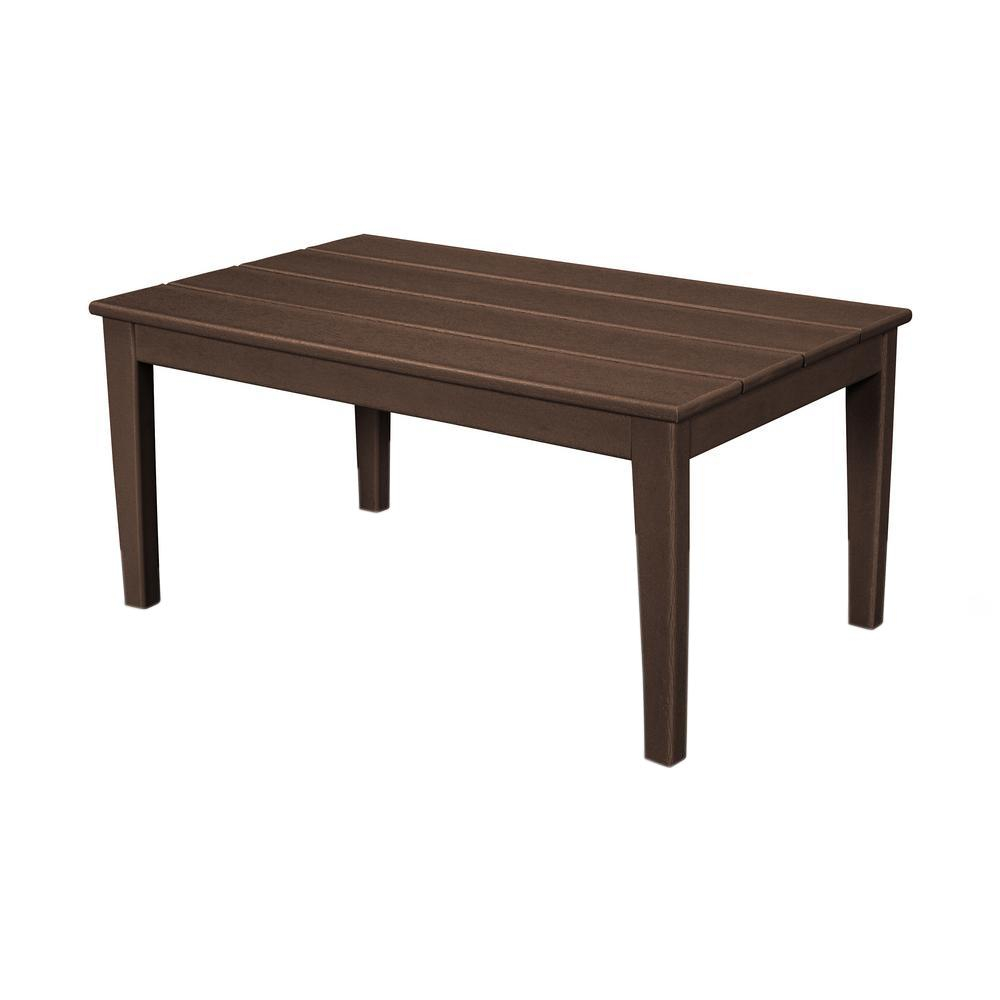 Polywood Newport 22 In X 36 In Plastic Outdoor Coffee Table intended for measurements 1000 X 1000