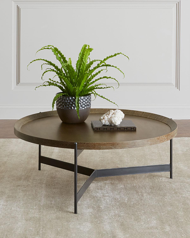 Pomona Tray Coffee Table Neiman Marcus for measurements 1200 X 1500