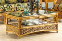 Portofino Rattan Coffee Table With Ogee Glass Top Not Sold Alone with sizing 1100 X 767