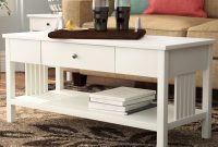 Red Barrel Studio Bechtel Mission Style Wood Coffee Table Reviews intended for size 1780 X 1780