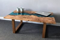 Resin River Coffee Table With Wooden Legs Revive Joinery intended for dimensions 1024 X 992