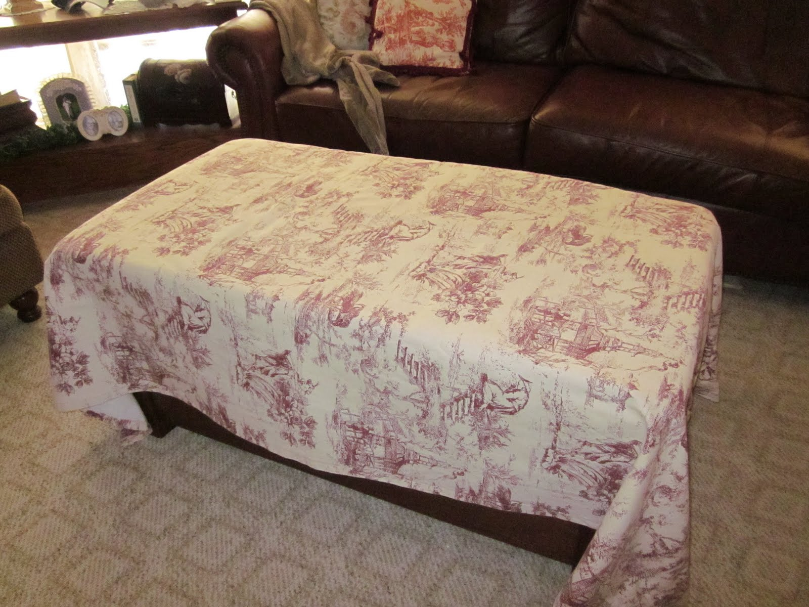 Rosechicfriends Coffee Table Slipcover in measurements 1600 X 1200