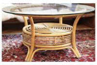 Round Rattan Coffee Table With Glass Top Answerplane in size 2941 X 1854