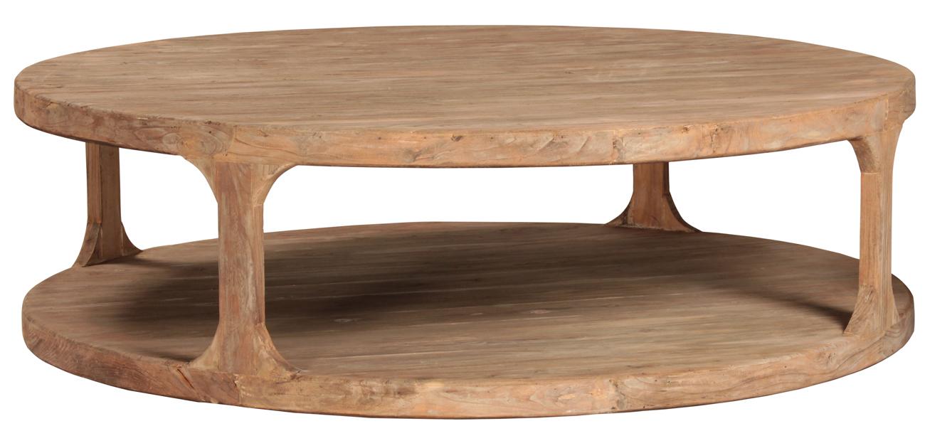 Round Reclaimed Wood Coffee Table Taramundi Furniture Home Decor with regard to measurements 1300 X 606