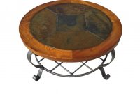 Round Stone Top Coffee Table Alabama Furniture in sizing 1856 X 2484