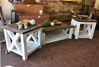 Rustic Distressed Farmhouse Coffee And End Tables Nailbenders regarding measurements 4032 X 3024