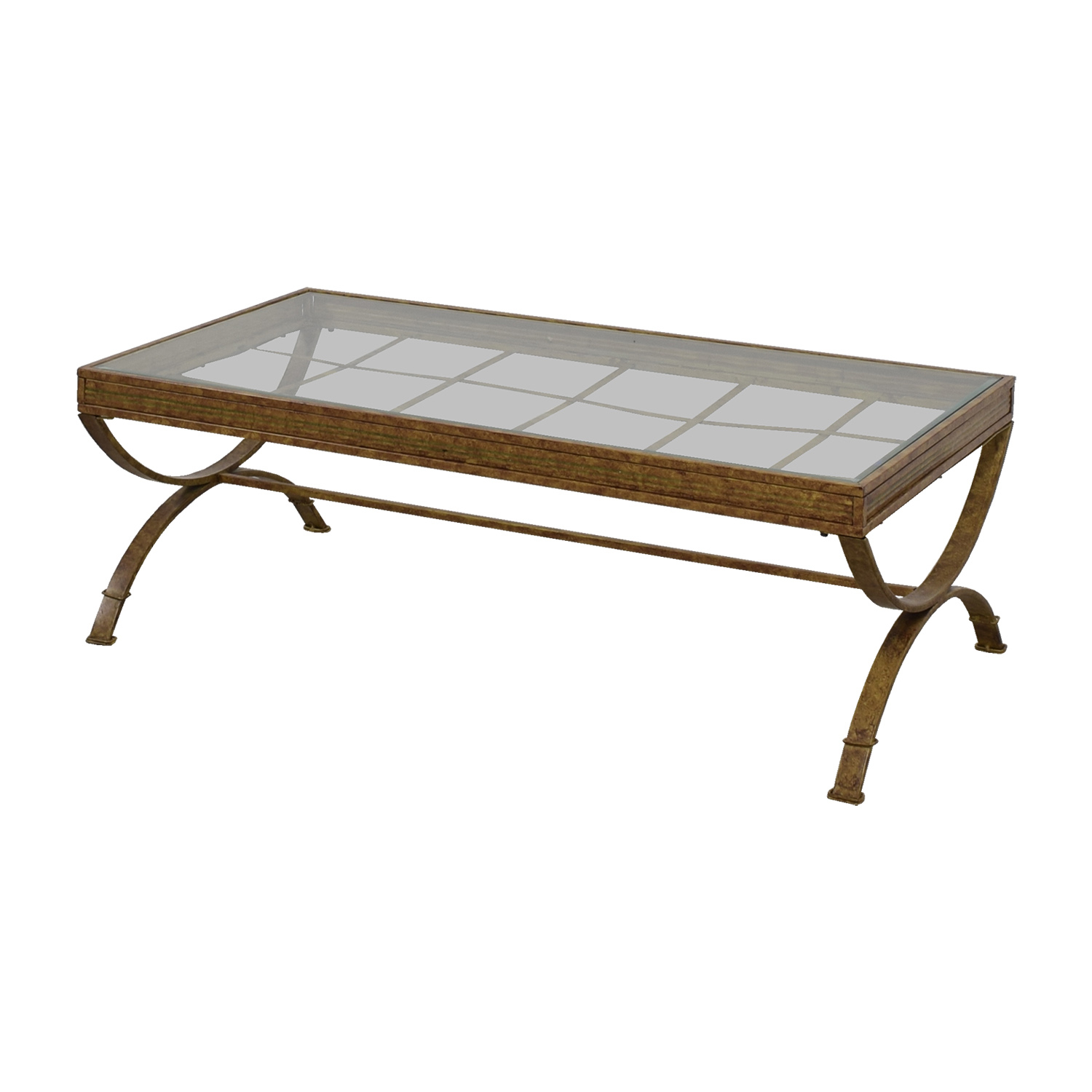 Rustic Glass Coffee Table Hipenmoedernl with proportions 1500 X 1500