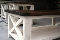 Rustic X Coffee Table Ana White throughout dimensions 896 X 1200