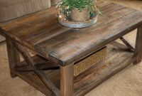 Rustic X Coffee Table In Natural Stains Custom Made Rustic Coffee within size 1080 X 1080