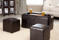 Simpli Home Avalon Coffee Table Storage Ottoman With 4 Serving Trays with size 2590 X 2590