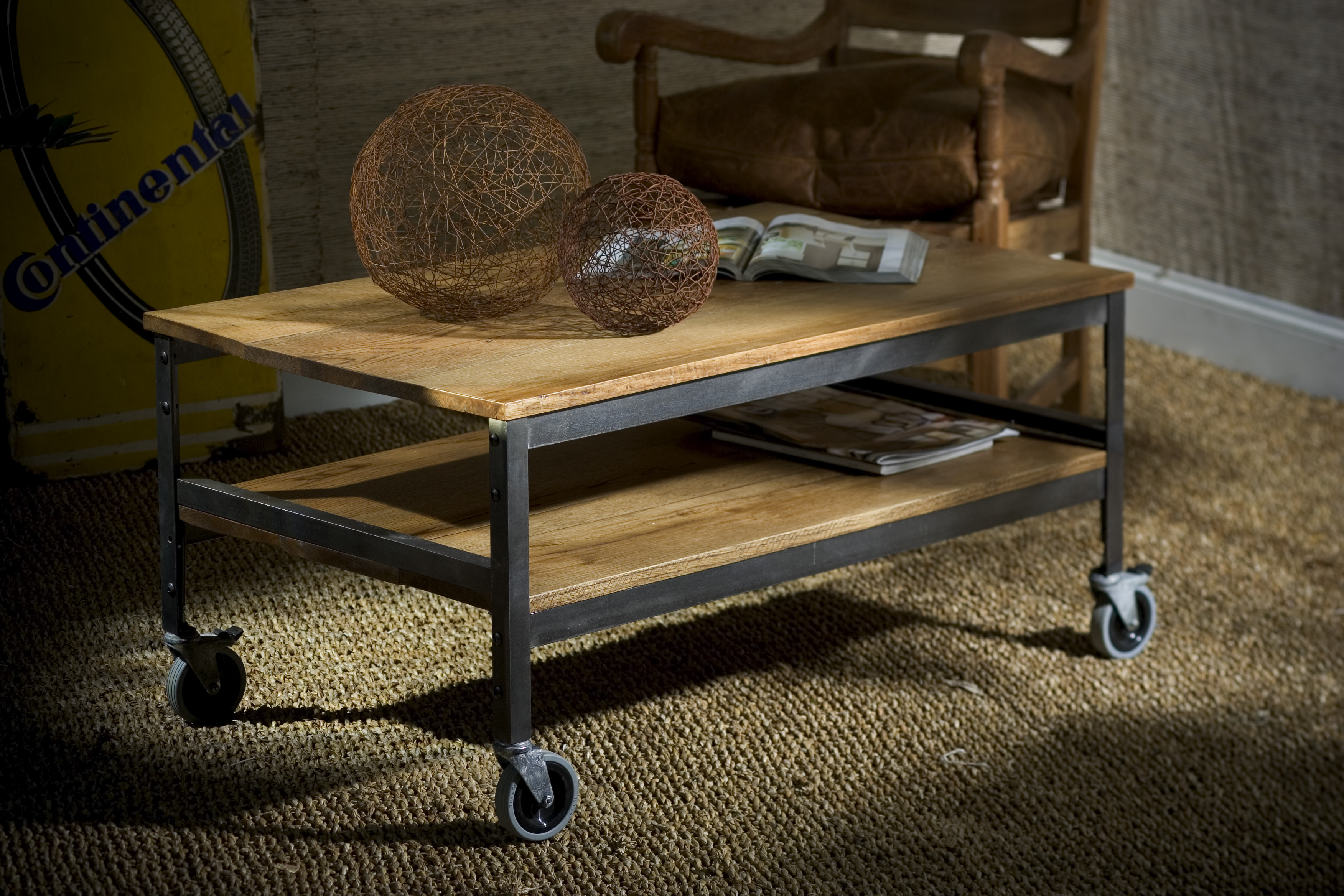 Small Coffee Table On Wheels Hipenmoedernl pertaining to measurements 3504 X 2336