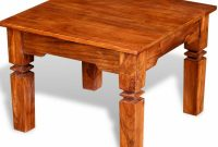 Small Vintage Coffee Table Solid Wood Living Room Retro Side End for sizing 1000 X 1000