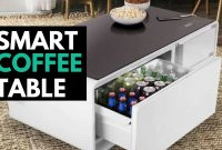Sobro The Smart Coffee Table With A Built In Fridge And Speakers intended for dimensions 1280 X 720