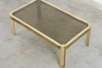Solid Brass Coffee Table Of The 1970s Vintage Design Point with proportions 980 X 900