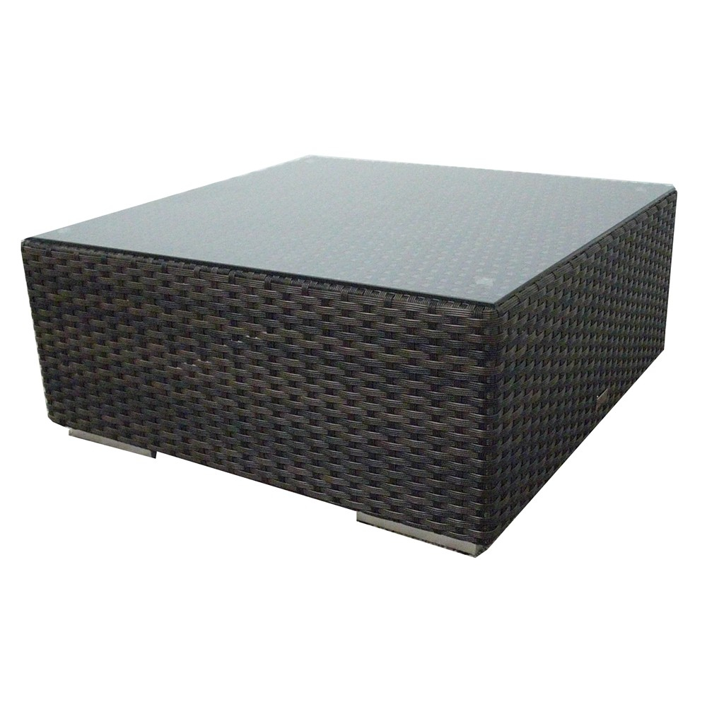 Source Outdoor Manhattan Wicker Coffee Table Wicker throughout measurements 1000 X 1000