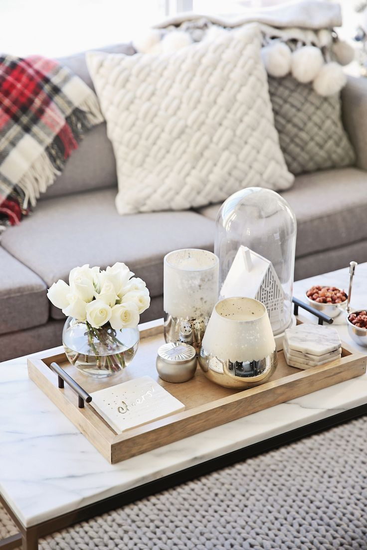 Sprucing Up Your Living Room With Coffee Table Decor Ideas New for dimensions 736 X 1104