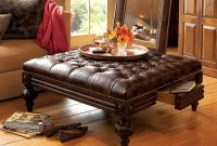 Square Leather Ottoman Coffee Table Coffee Tables In 2019 regarding proportions 2000 X 1662