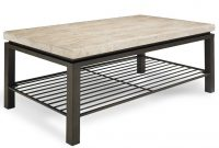 Tempo Travertine Top Rectangular Coffee Table Products with dimensions 884 X 1080
