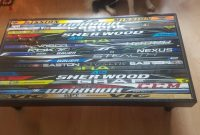 Thoughts On The Hockey Stick Coffee Table I Made Hockeyplayers intended for sizing 4032 X 2268