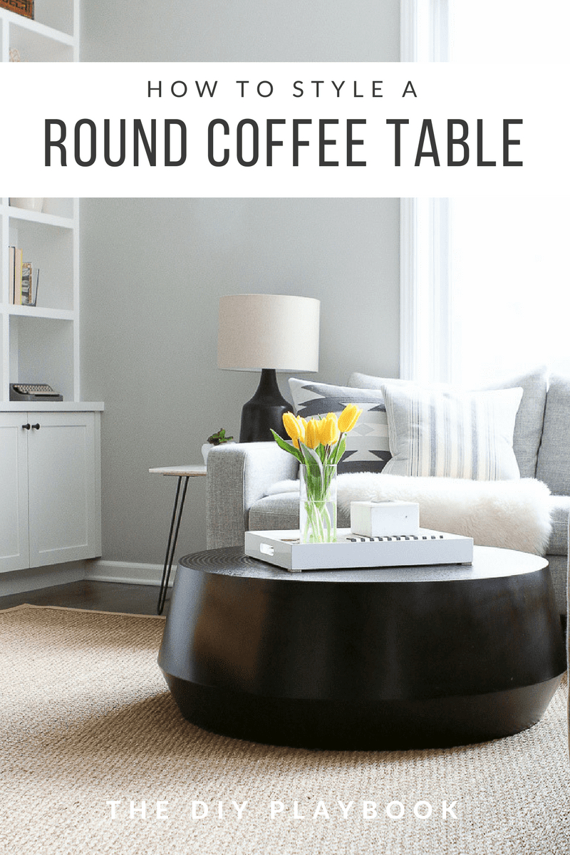 Tips To Style A Round Coffee Table In Your Living Room The Diy throughout dimensions 800 X 1200