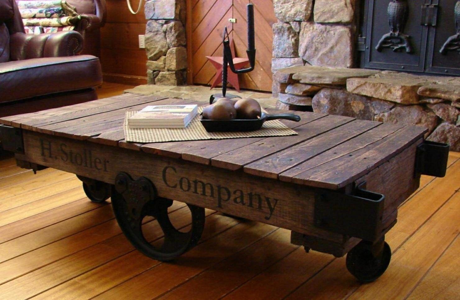 Train Cart Coffee Table Hipenmoedernl regarding size 1480 X 965