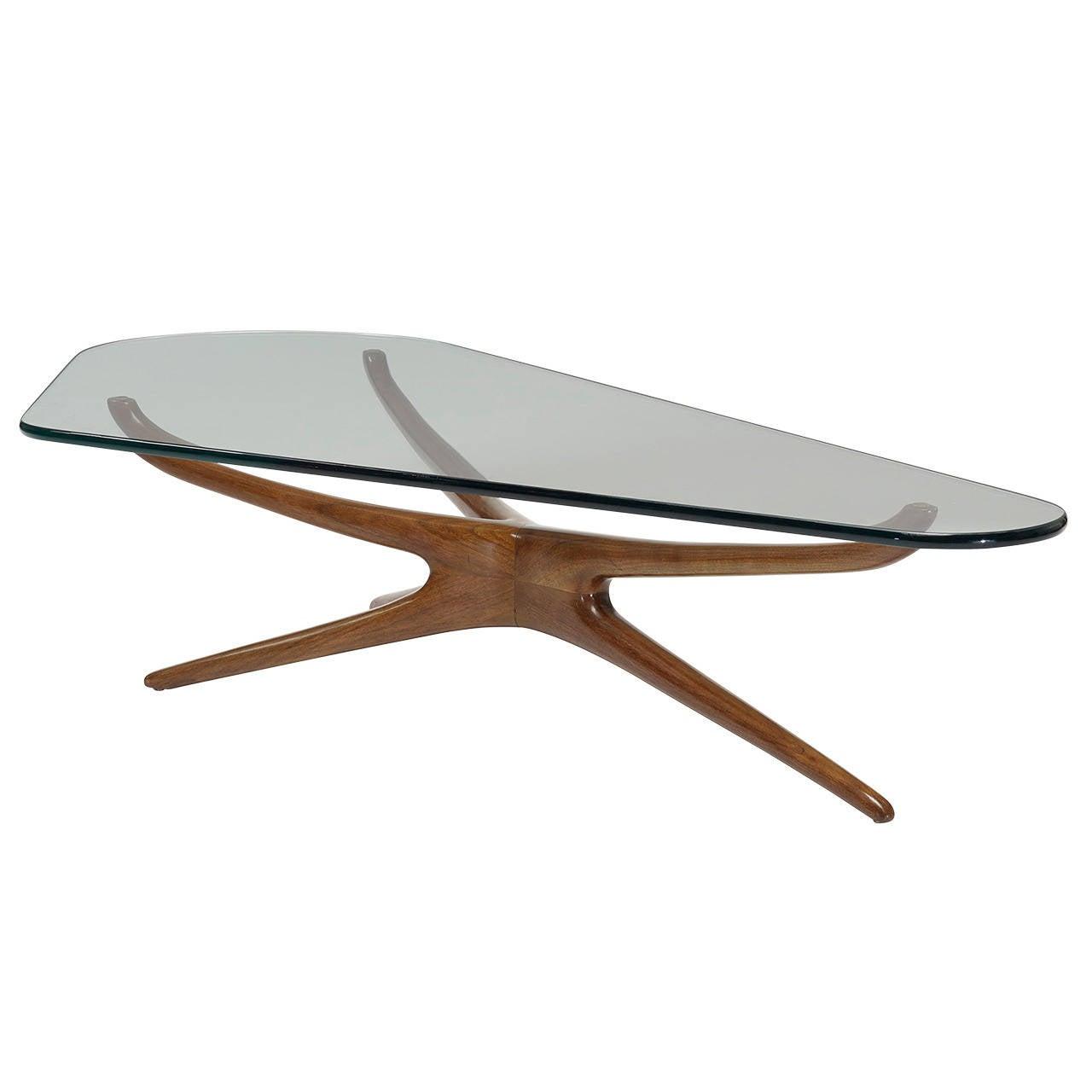 Tri Symmetric Coffee Table Vladimir Kagan For Vladimir Kagan throughout size 1280 X 1280