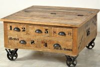Trunk Coffee Table Menier Chocolate Factory in measurements 1000 X 1000