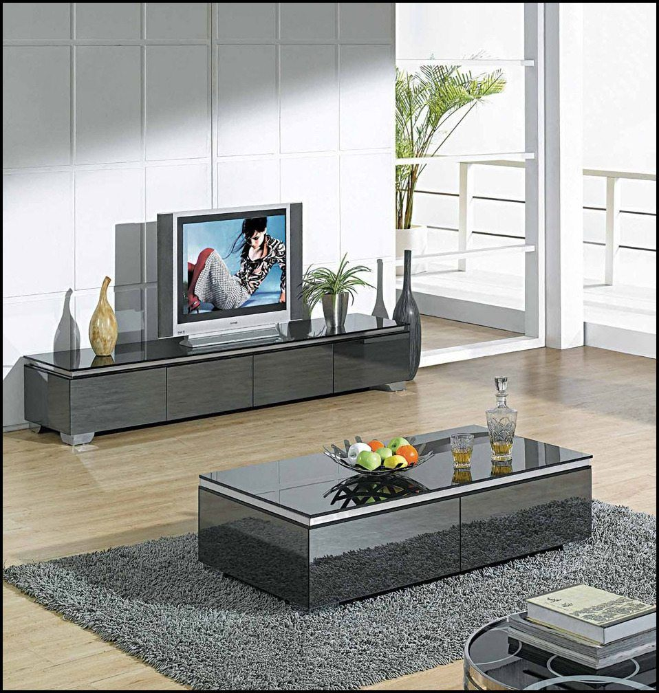 Tv Stand And Coffee Table Set Tv Stand And Coffee Table Setblack with proportions 958 X 1008
