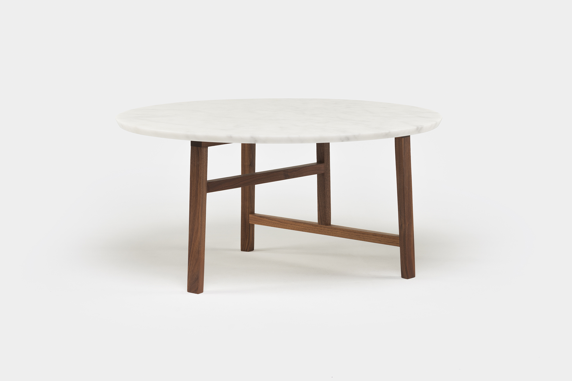 Viewing Nerihu 754mm Trio Round Coffee Table With Marble Top Product with size 2000 X 1334