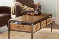 Vino Vintage Coffee Table Wine Enthusiast throughout proportions 1500 X 1500
