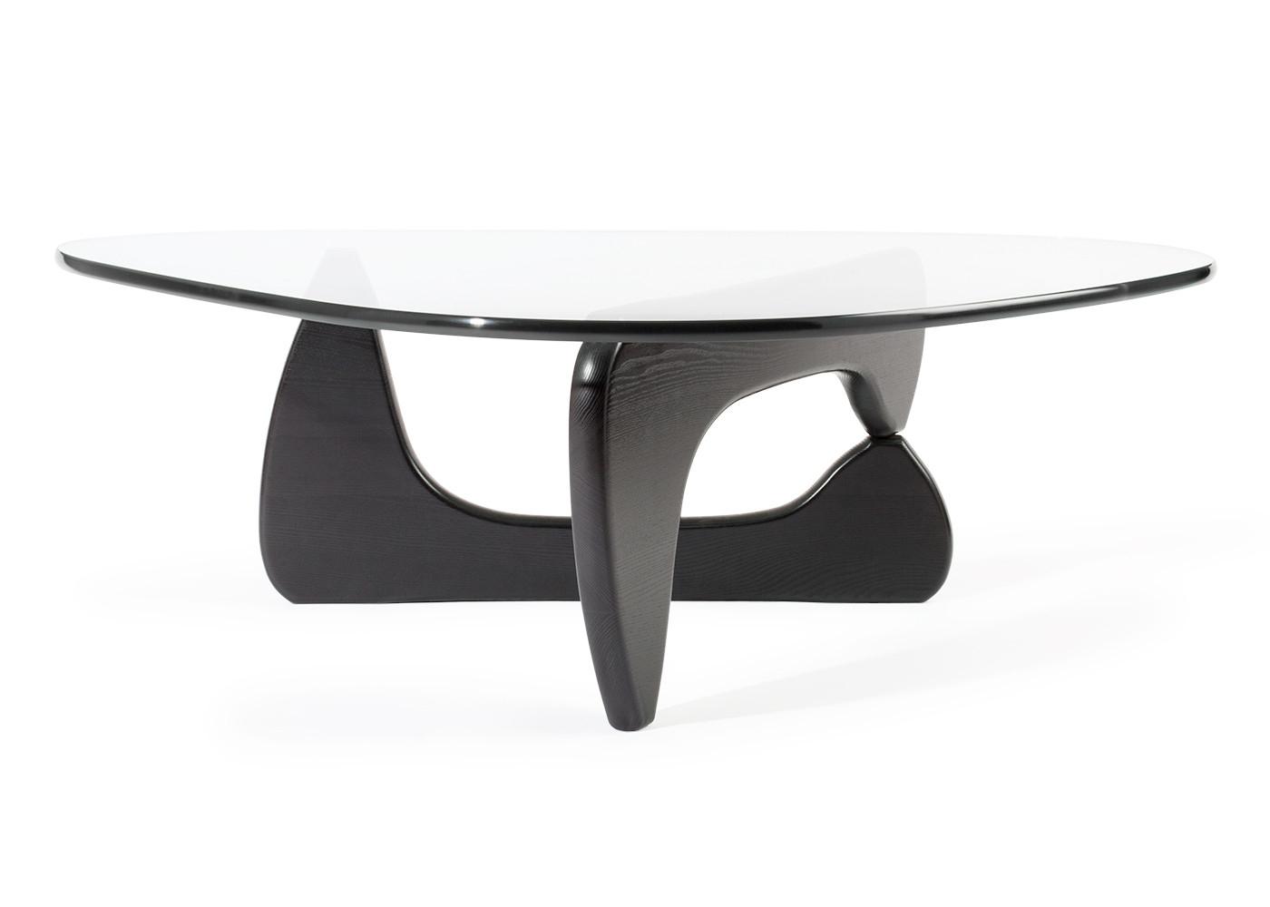 Vitra Noguchi Coffee Table Black Ash Heals inside measurements 1400 X 1000