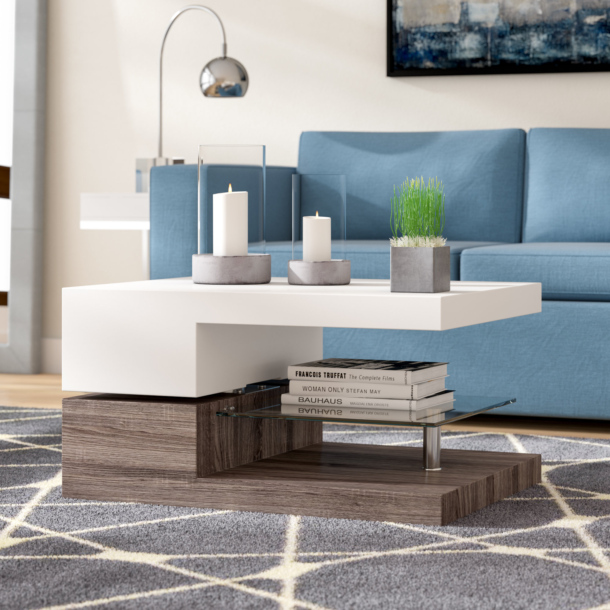 Wade Logan Delwood Coffee Table Reviews Wayfair throughout dimensions 2000 X 2000