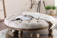Wayfair Gracie Oaks Amstel Farmhouse Tufted Coffee Table pertaining to measurements 2520 X 2520