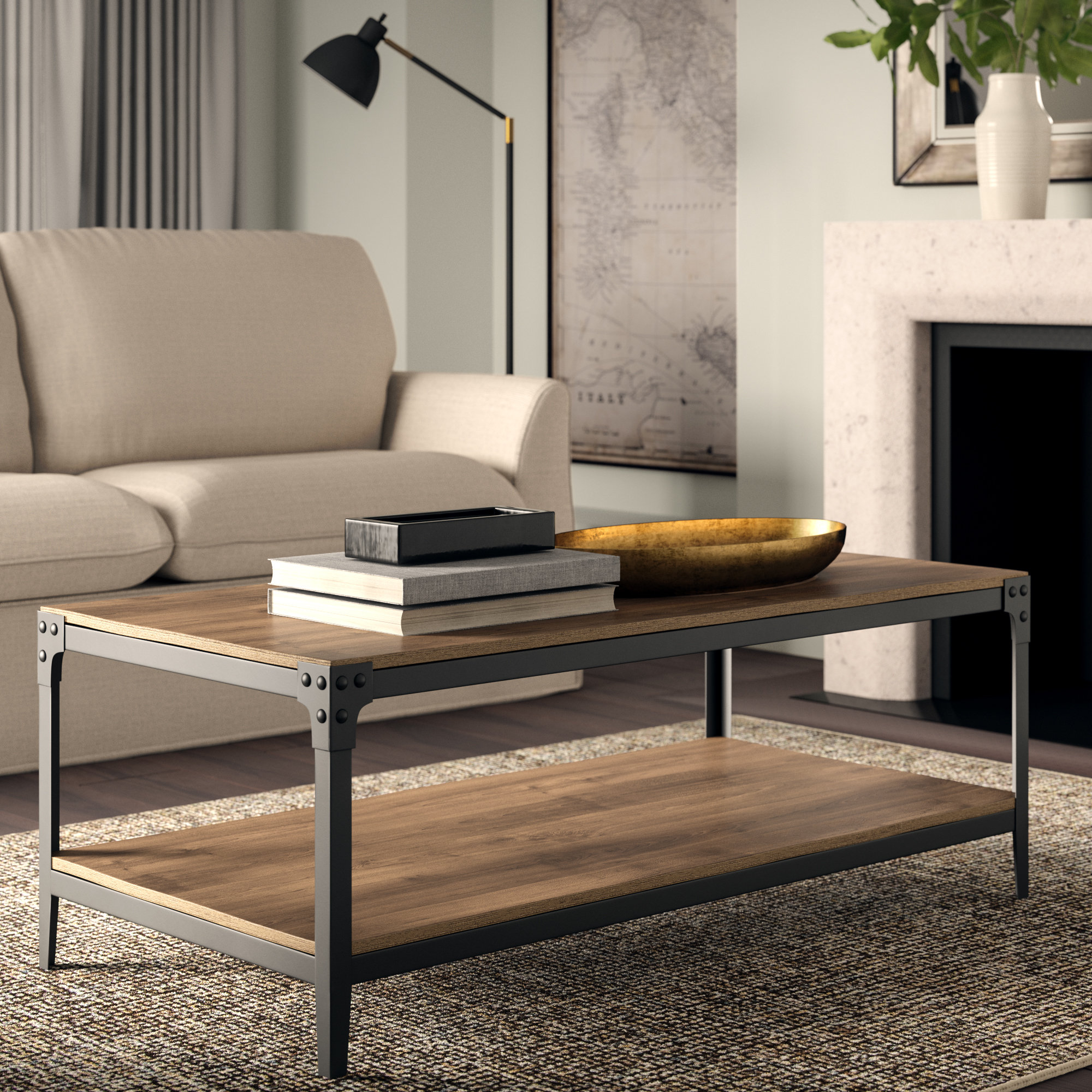 Wayfair Greyleigh Cainsville 3 Piece Coffee Table Set for sizing 2000 X 2000