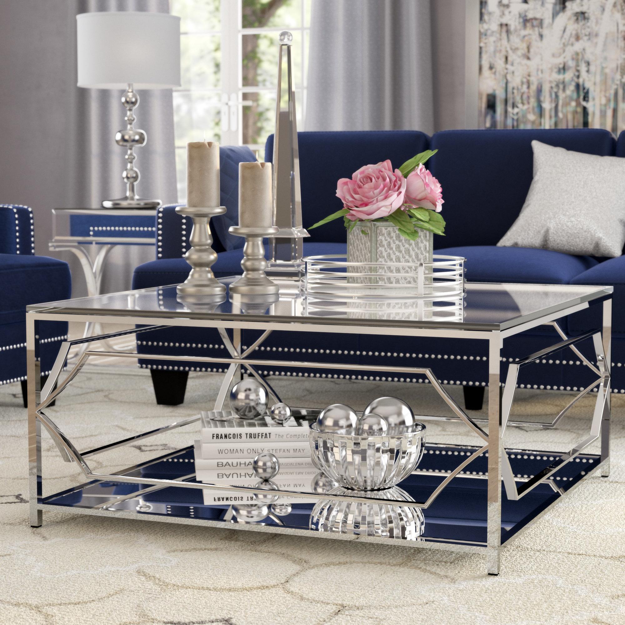 Willa Arlo Interiors Edward Coffee Table Reviews Wayfair regarding size 2000 X 2000
