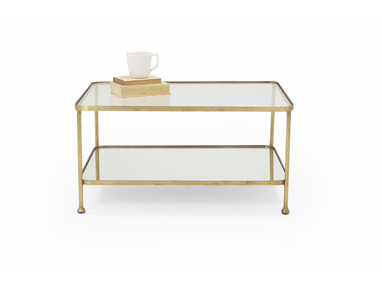 Wonder Boy Coffee Table Brass And Glass Coffee Table Loaf intended for size 1334 X 1000