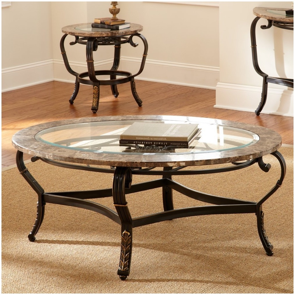 Wrought Iron And Glass Coffee Table For Retro Charm For The Outdoor with size 1010 X 1010