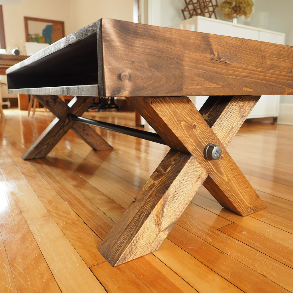 X Leg Coffee Table 9 Steps With Pictures intended for sizing 1024 X 1024
