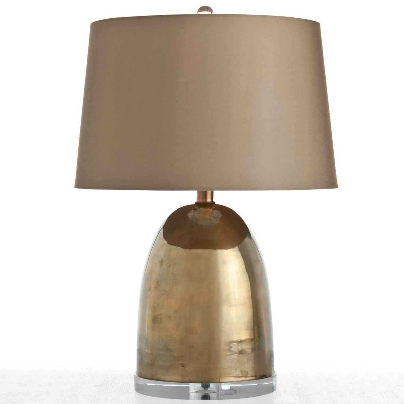 Arteriors Ryder Small Vintage Brass Table Lamp Ar46580147 for proportions 1320 X 1320