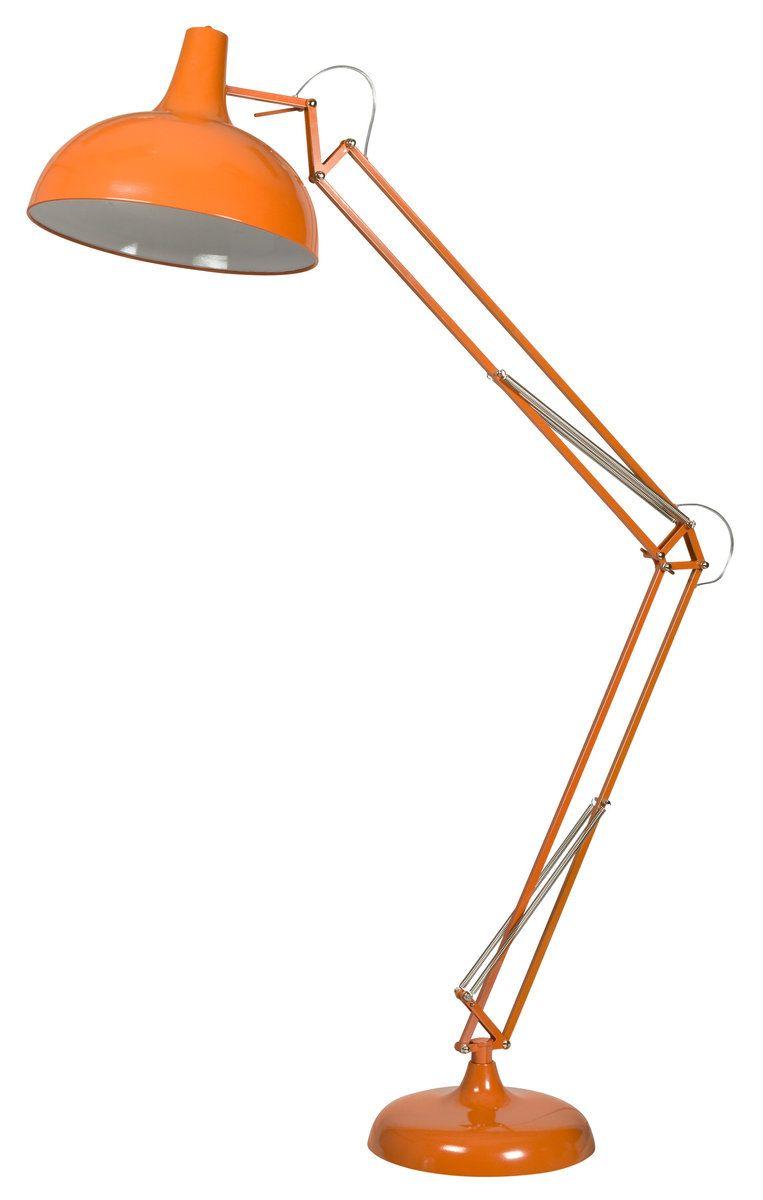 Atlas Floor Lamp Orange Lighting Accents Products in measurements 763 X 1200