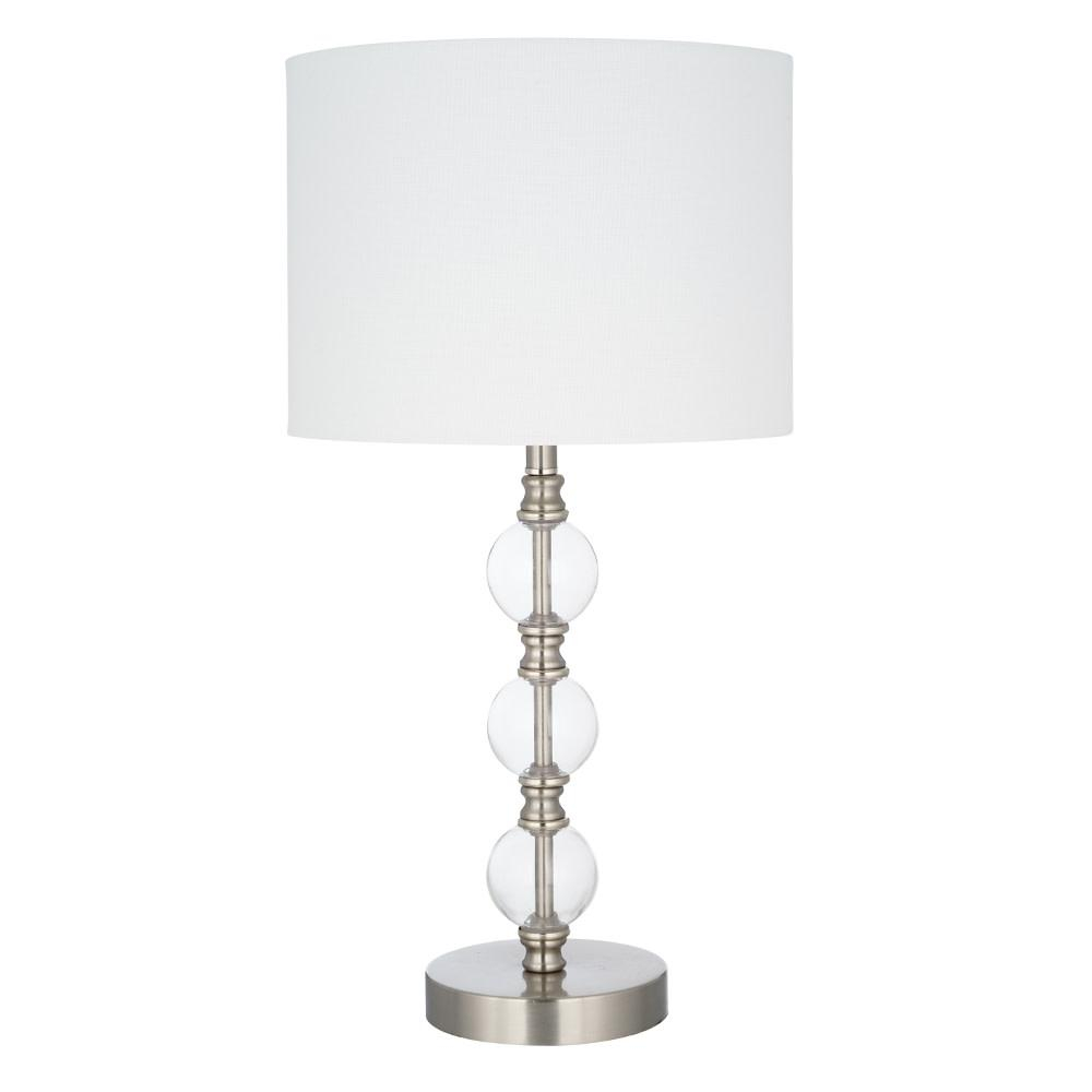 Cresswell 2325 In Clear Glass Modern Table Lamp And Led Bulb with sizing 1000 X 1000